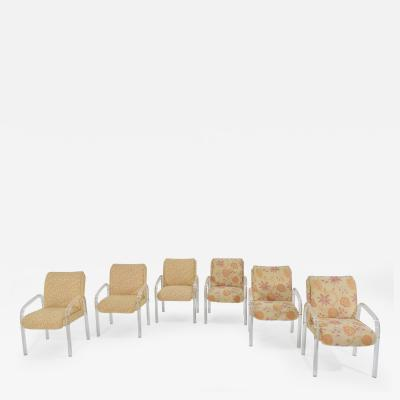 Leon Rosen Set of Six Leon Rosen for Pace Collection Lucite Dining Chairs