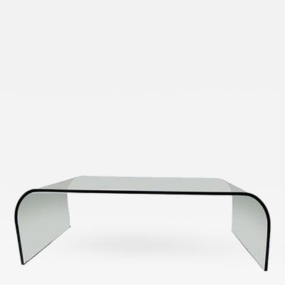 Leon Rosen Wonderful Waterfall Coffee Table by Leon Rosen for Pace