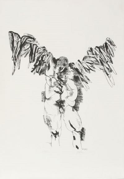 Leonard Baskin Icarus