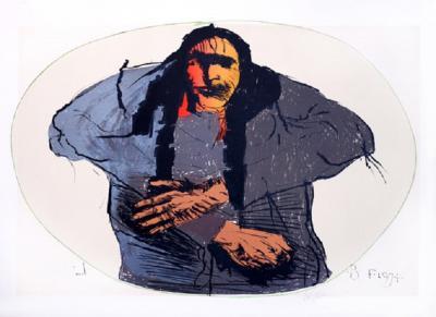 Leonard Baskin Native American