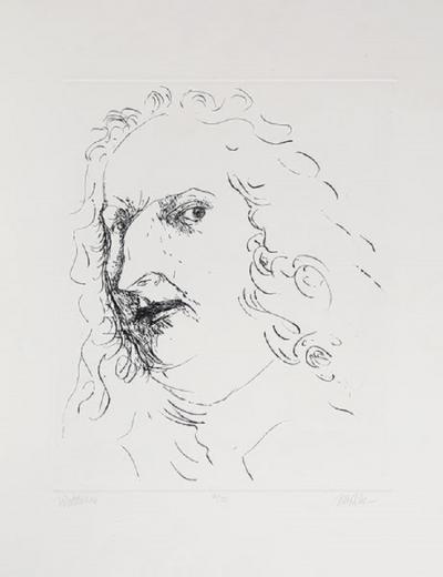 Leonard Baskin Watteau