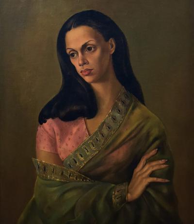 Leonor Fini PORTRAIT OF BACHOO DINSHAW COUNTESS WORONZOW