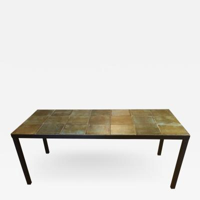 Les 2 Potiers Michelle et Jacques Serre Ceramic Coffee Table