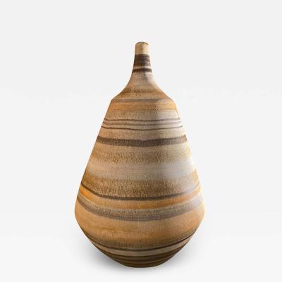 Les 2 Potiers Michelle et Jacques Serre Ceramic Vase by Les 2 Potiers France 1960s