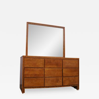 Leslie Diamond Modernmates Birch Dresser with Mirror by Leslie Diamond for Conant Ball