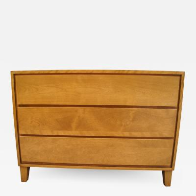 Leslie Diamond Modernmates Three Drawer Dresser Chest by Leslie Diamond for Conant Ball