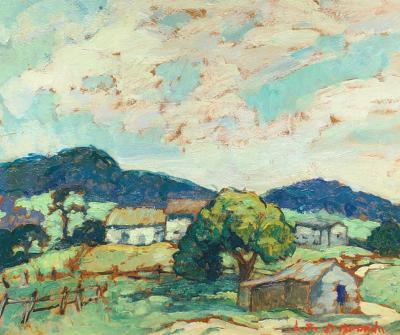 Lester David Boronda Monterey Landscape