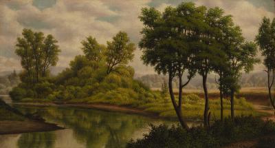 Levi Wells Prentice River Landscape