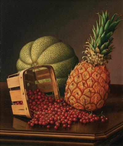 Levi Wells Prentice Table Top Still Life with Fruit