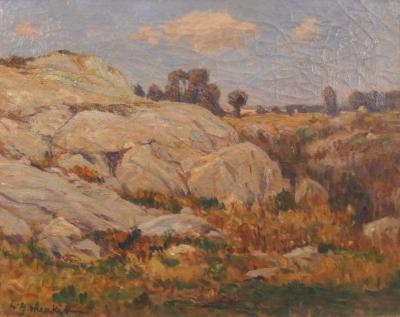 Lewis Henry Meakin Rocks and Clouds