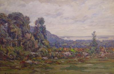 Lewis Henry Meakin View of the Coast