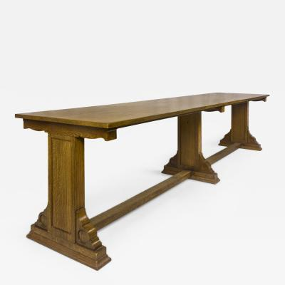 Library Table circa 1920 England