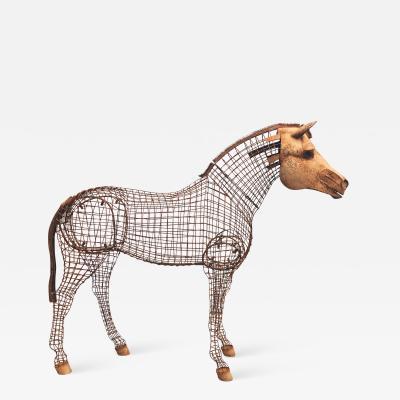 Lifesize Horse Topiary
