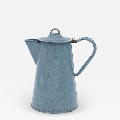 Light Speckled Blue pitcher