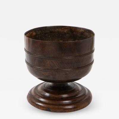Lignum vitae wassail bowl