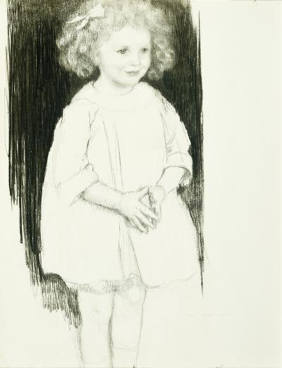 Lilian Westcott Hale Little Girl