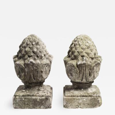 Limestone Pineapple Finials