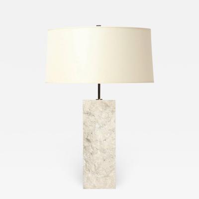 Limestone Table Lamp