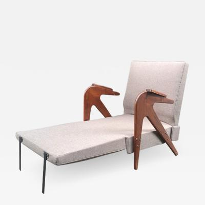 Lina Bo Bardi A lounge chair that turns into a chaise made by Studio D arte Palma ca 1955