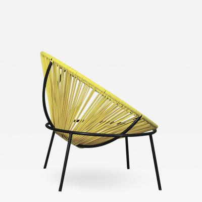 Lina Bo Bardi Lina Bo Bardi MidCentury Bowl Chair in Iron and plastic
