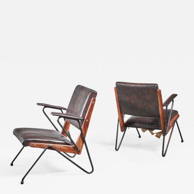 Lina Bo Bardi Lina Bo Bardi pair of armchairs Brazil 1950