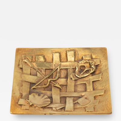 Line Vautrin A gilded bronze pocket emptier Holopherne