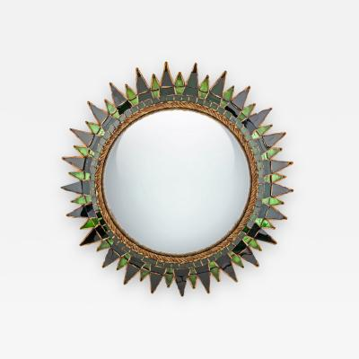 Line Vautrin A soleil a pointes number 3 convex Mirror