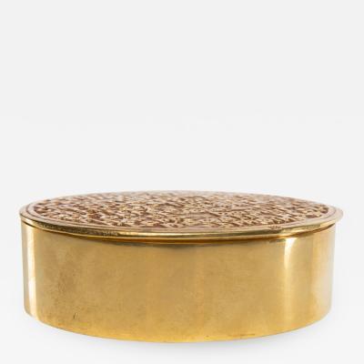 Line Vautrin Antagonisms or The Monad Gilded bronze box Line Vautrin France