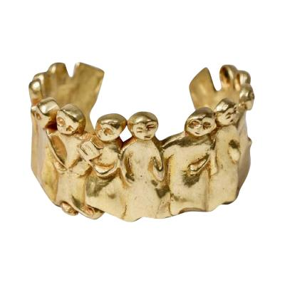 Line Vautrin Bronze Bracelet La Manif by Line Vautrin