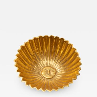 Line Vautrin French Line Vautrin Gilded Bronze Pocket Emptier Le Roi Soleil