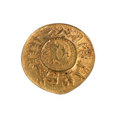 Line Vautrin Gilt Bronze Brooch by Line Vautrin