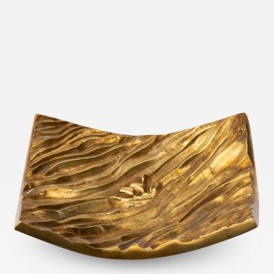 Line Vautrin Line Vautrin Gilded Bronze Pocket Emptier La Mer