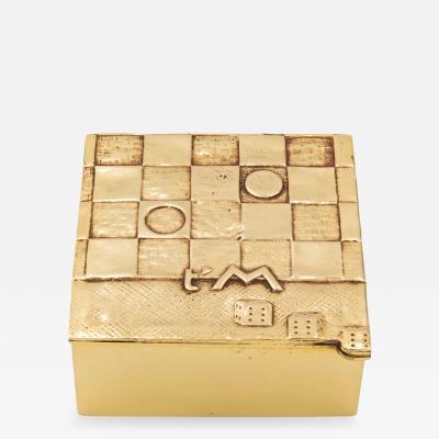 Line Vautrin Line Vautrin Je taime beaucou Box Gilded Bronze