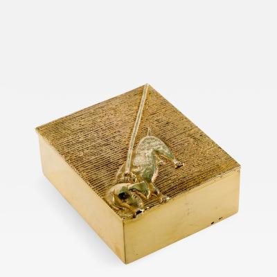 Line Vautrin Line Vautrin Tout Ou Rien Box Gilded Bronze