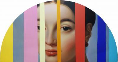 Lino Lago Fake Abstract Multi on Francois Ingres