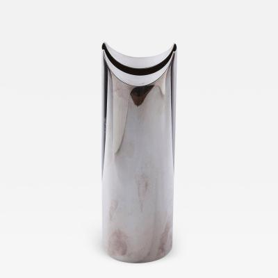 Lino Sabattini Giselle Silver Plated Flower Holder by Lino Sabattini