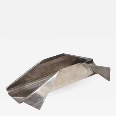 Lino Sabattini Pleat Breadstick Holder by Lino Sabattini