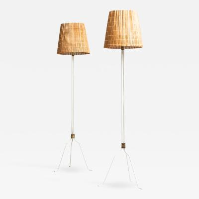 Lisa Johansson Pape Floor Lamps Model 30 058 Produced by Orno