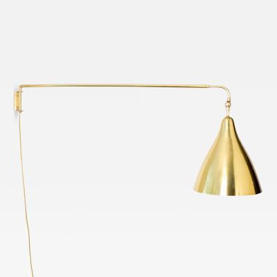 Lisa Johansson Pape LISA JOHANSSON PAPE WALL MOUNT SWING ARM LAMP ORNO FINLAND