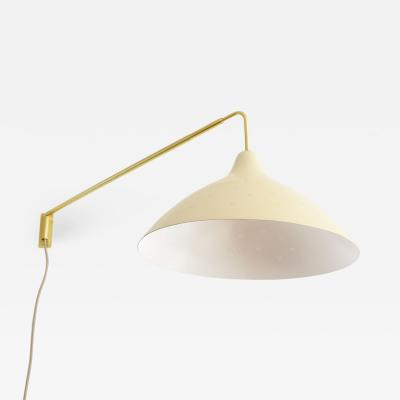 Lisa Johansson Pape Lisa Johansson Pape Adjustable Wall Mount Swing Arm Lamp Orno Finland