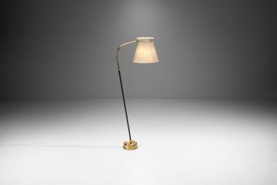Lisa Johansson Pape Lisa Johansson Pape Model 2063 Floor Lamp for Stockmann Orno Finland 1950s