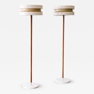 Lisa Johansson Pape Rare Pair of Extending Floor Lamps by Lisa Johansson Pape Finland 1960s