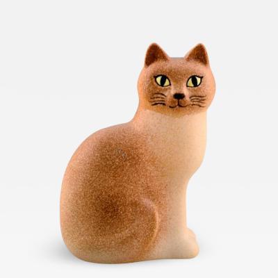 Lisa Larson Cat in glazed ceramics