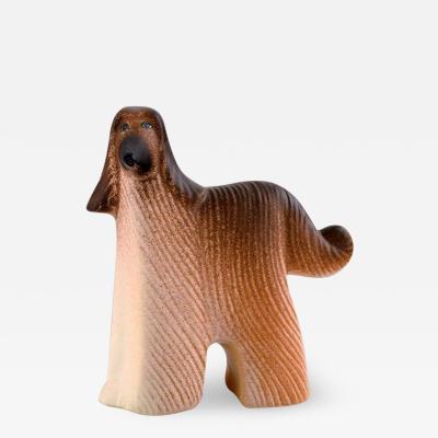 Lisa Larson Dog in glazed ceramics