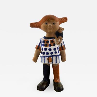 Lisa Larson Lisa Larsson very rare Pippi Longstocking figure