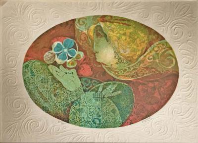 Lithograph by Alvar Sunol Munoz Ramos