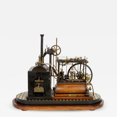 Live Steam Walking Beam Engine Model by H Vernon