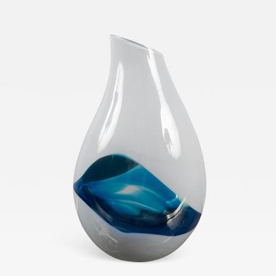 Livio Seguso Glass Vase by Livio Seguso b 1930 Italy 1990s