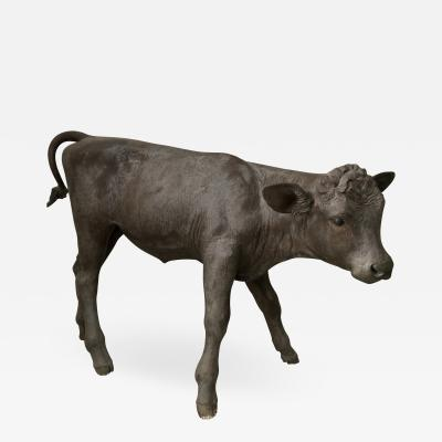 Liza Todd Tivey Elizabeth Taylor owned Monumental bronze Calf by Liza Todd Tivey