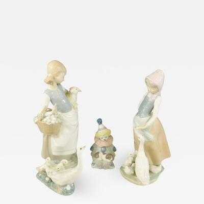 Lladro LLadro Porcelain Figurines a Set of 4